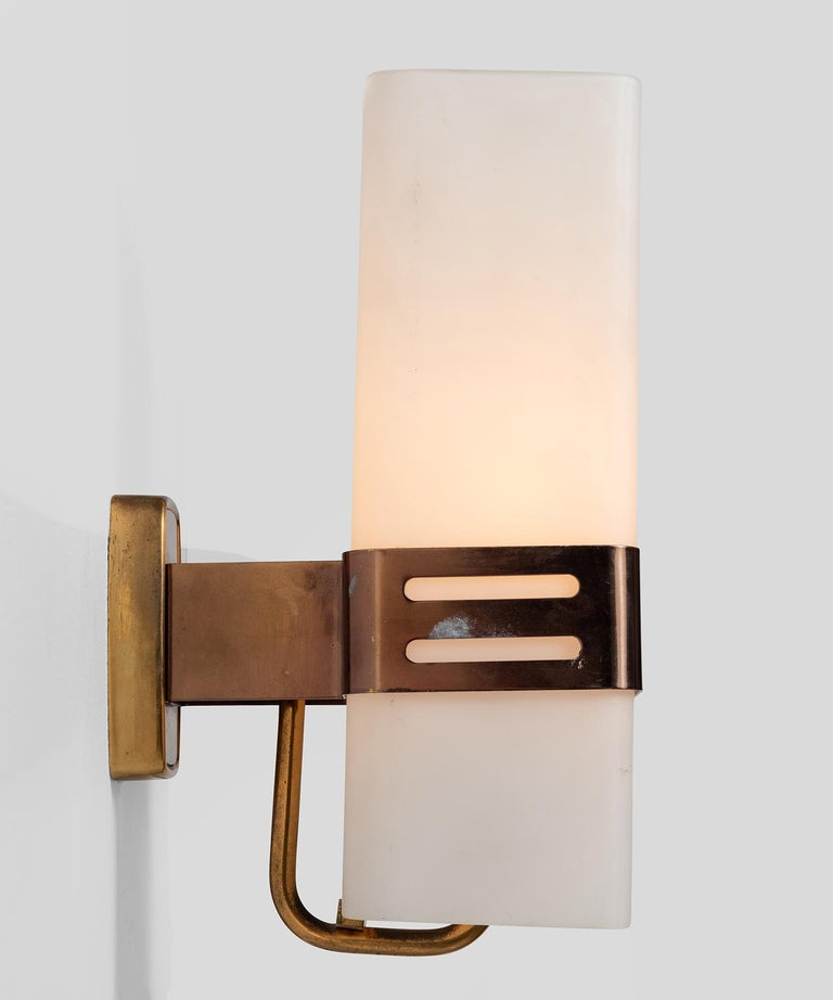 20th Century Pair of Stilnovo Wall Sconces For Sale