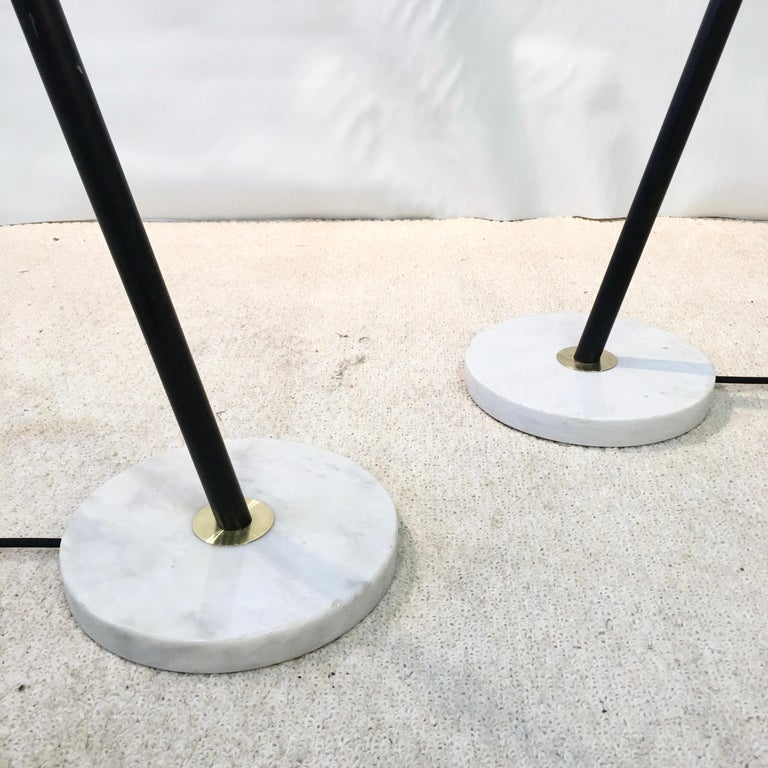 Pair of Stilux Articulating Floor Lamps For Sale 7