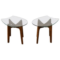 """Pair of """"Stingray"""" End Tables by Adrian Pearsall, 1960s"""