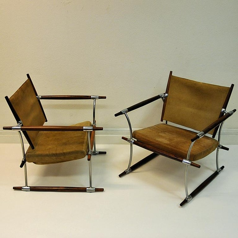 Pair of  'Stokke' Chairs by Jens H. Quistgaard, Nissen, Denmark, 1966 For Sale 4
