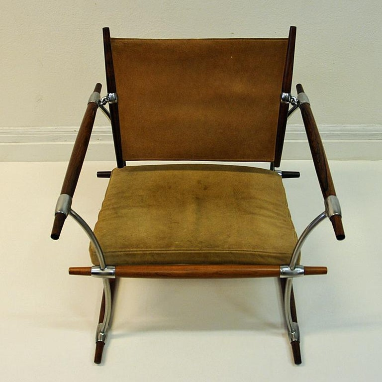 Danish Pair of  'Stokke' Chairs by Jens H. Quistgaard, Nissen, Denmark, 1966 For Sale