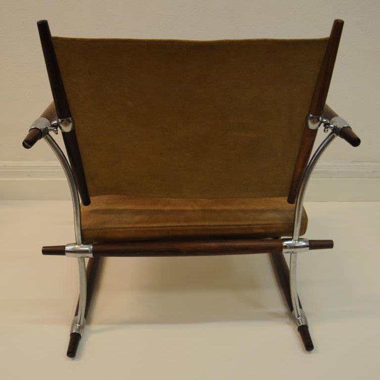 Mid-20th Century Pair of  'Stokke' Chairs by Jens H. Quistgaard, Nissen, Denmark, 1966 For Sale