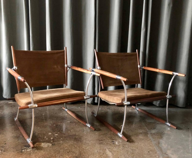 Jens Quistgaard for Nissen Langaa, Denmark. 1960s. A pair of