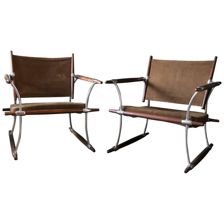 """Pair of """"Stokke"""" Chairs by Jens Quistgaard for Nissen For Sale"""