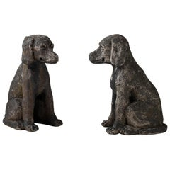 Pair of Stone Dogs