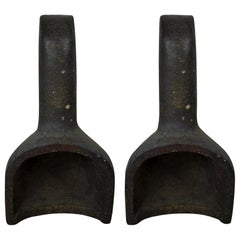 Pair of Stoneware Found Objects, English, circa 1900