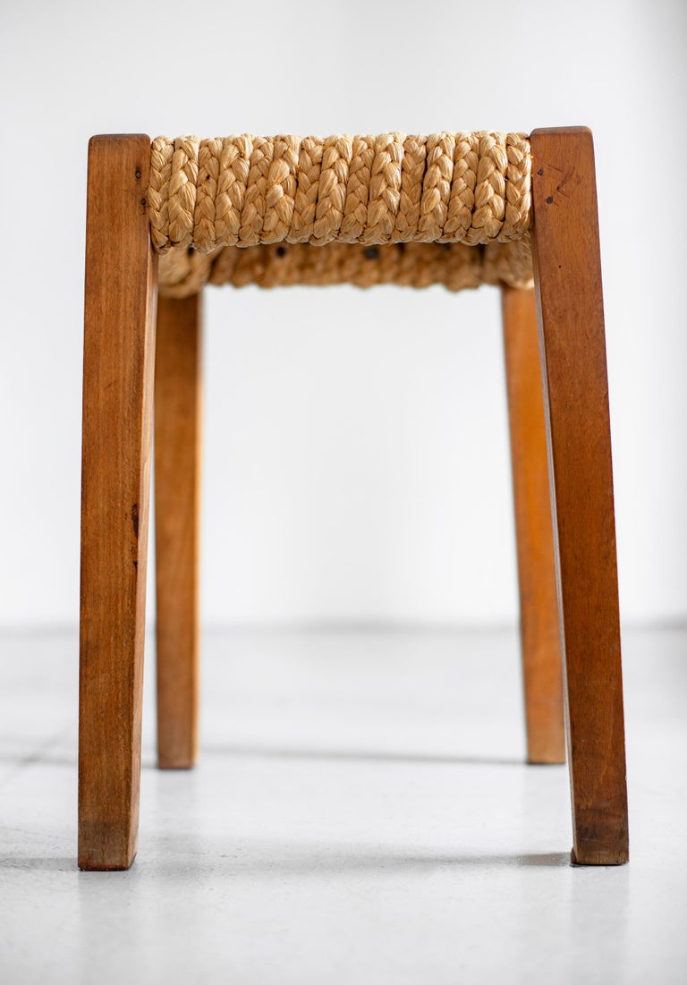 Pair of Stools by Audoux Minet For Sale 3