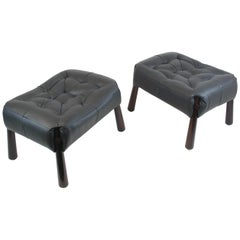 Pair of Stools by Percival Lafer