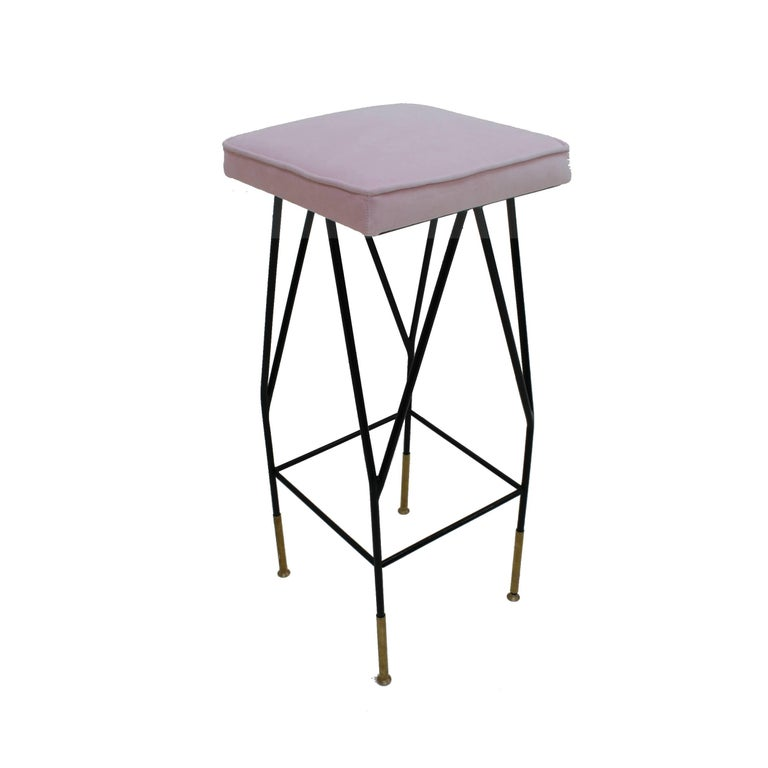 Pair of Stools In Excellent Condition For Sale In Madrid, ES