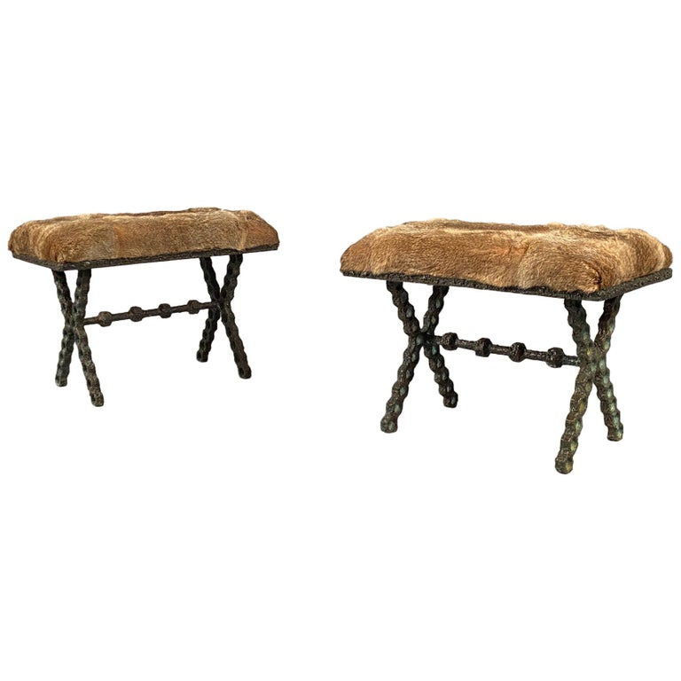 Pair of Stools For Sale
