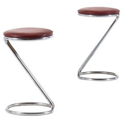 Pair of Stools in the Manner of Poul Henningsen Produced in Denmark