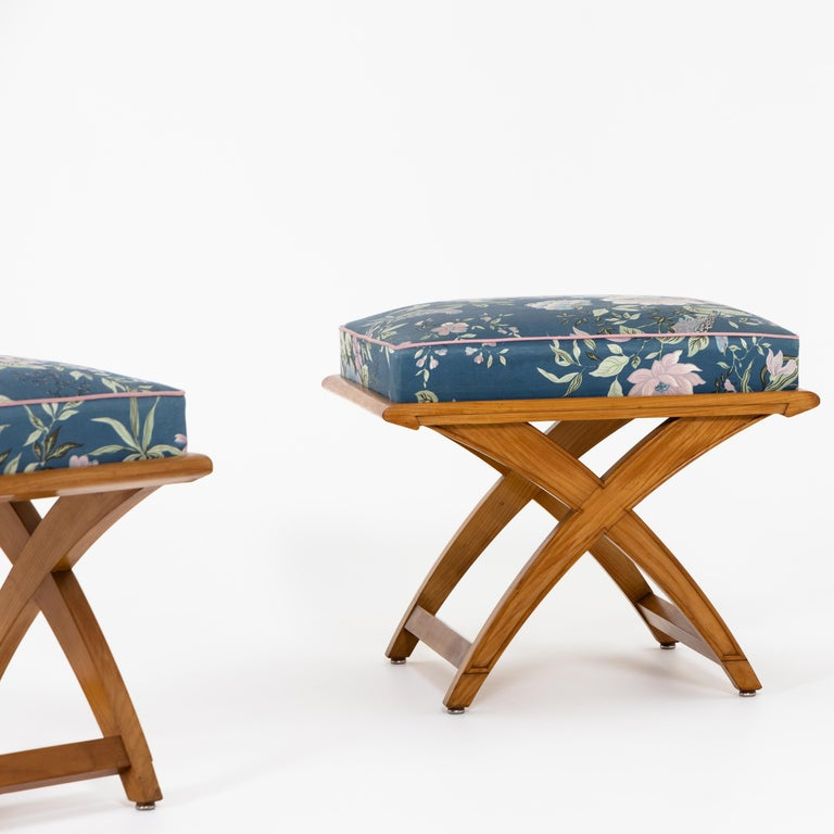 Pair of Stools, Mid-20th Century In Good Condition For Sale In Greding, DE