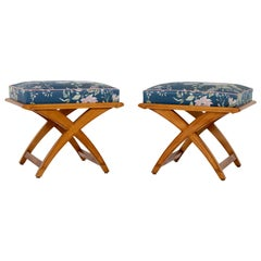 Pair of Stools, Mid-20th Century