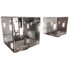 Pair of Studio Arditi Mirror Lamps