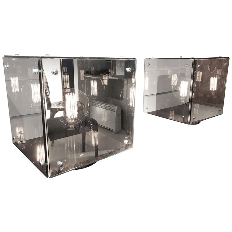Pair of Studio Arditi Mirror Lamps