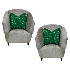 Pair of Super Comfortable Ulrich Armchairs