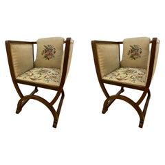 Pair of Svensk Jugend Stil Chairs
