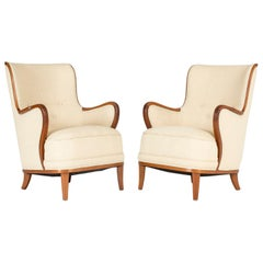 Pair of Swedish 1940s Lounge Chairs