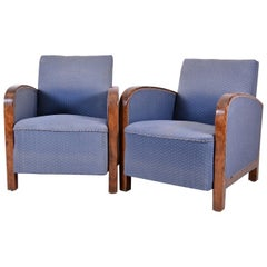 Pair of Swedish Art Deco Armchairs