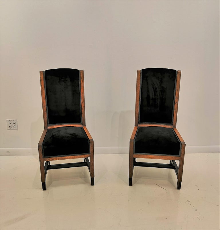 Pair of Swedish Art Deco Chairs, Sweden, 1930s In Good Condition For Sale In New York, NY