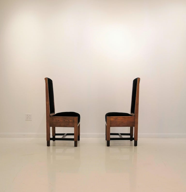 Mid-20th Century Pair of Swedish Art Deco Chairs, Sweden, 1930s For Sale