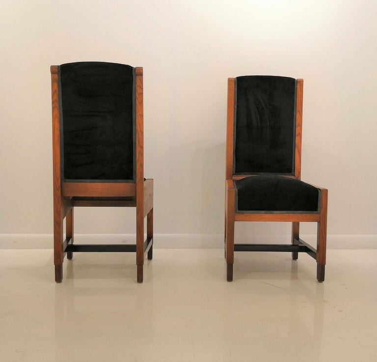 Pair of Swedish Art Deco Chairs, Sweden, 1930s For Sale 1