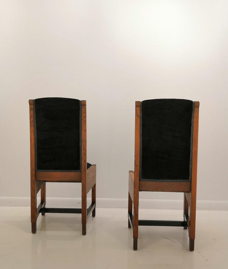 Pair of Swedish Art Deco Chairs, Sweden, 1930s For Sale 3
