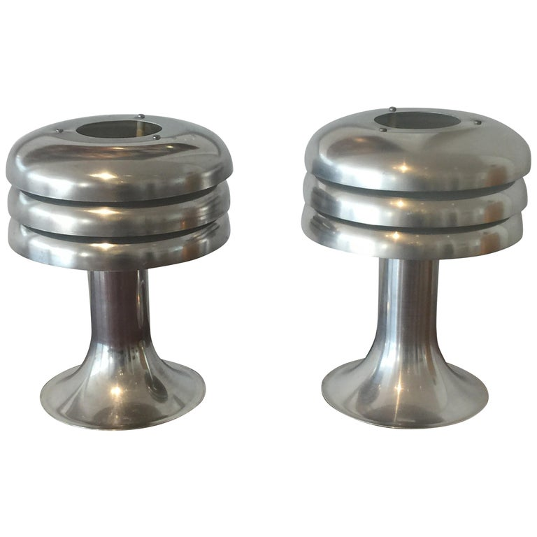 Pair of Swedish BN-25 Table Lights by Hans-Agne Jakobsson, 1950s For Sale