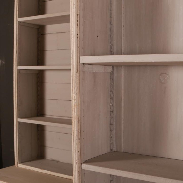 Pair of Swedish Bookcases In Good Condition For Sale In Leamington Spa, Warwickshire