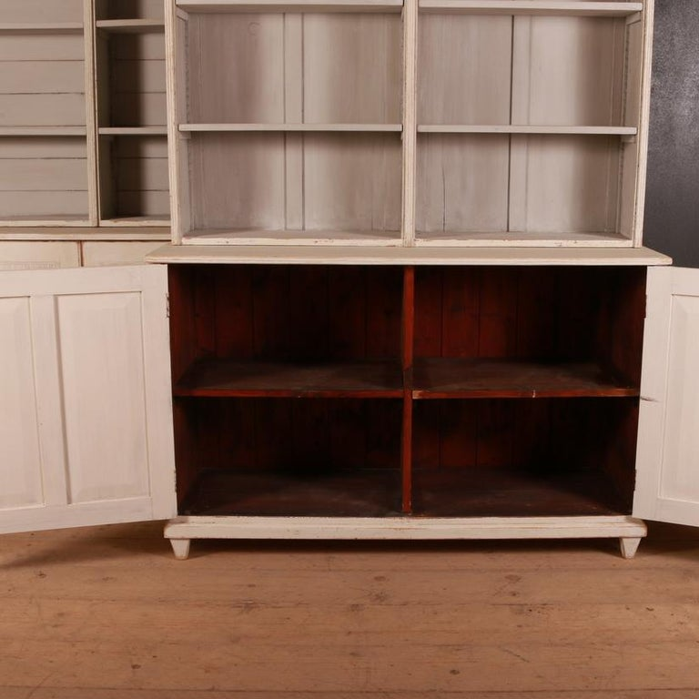Pair of Swedish Bookcases For Sale 2
