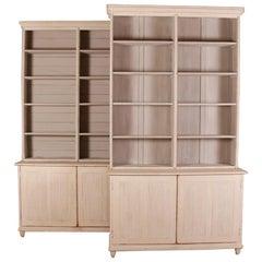 Pair of Swedish Bookcases