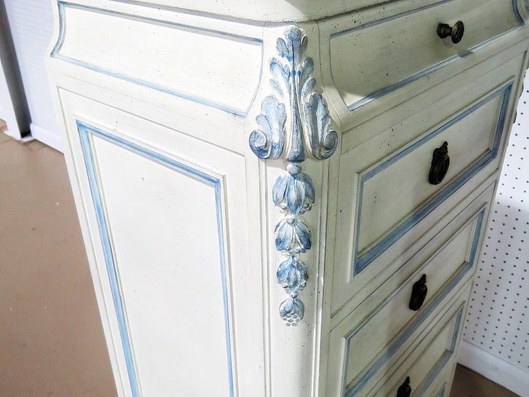 Pair of Swedish Louis XVI Style Lingerie Chests For Sale 2