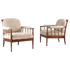 "Pair of Swedish Lounge Chairs ""Skrindan"" by Kerstin Hörlin Holmquist for OPE"