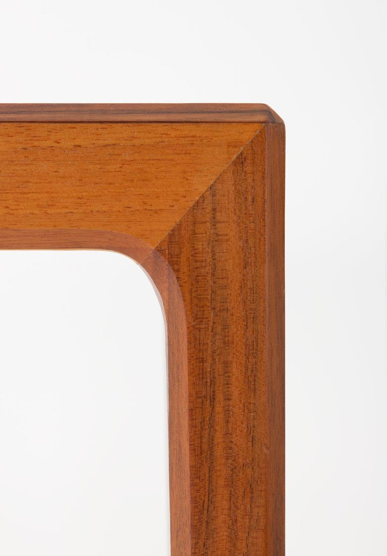 20th Century Pair of Swedish Midcentury Side Tables in Walnut by Bertil Fridhagen For Sale
