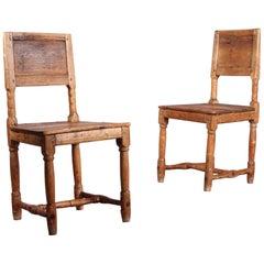 Pair of Swiss Alp Chairs