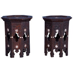 Pair of Syrian Side Tables