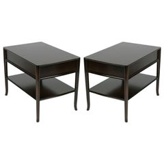 Pair of T. H. Robsjohn-Gibbings End Tables or Nightstands