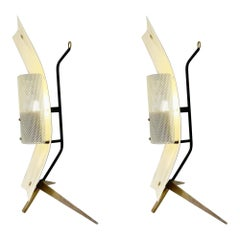 Pair of Mid-Century Modern Table Lamp/Sconce by Gastone Colliva, Italy, 1950s