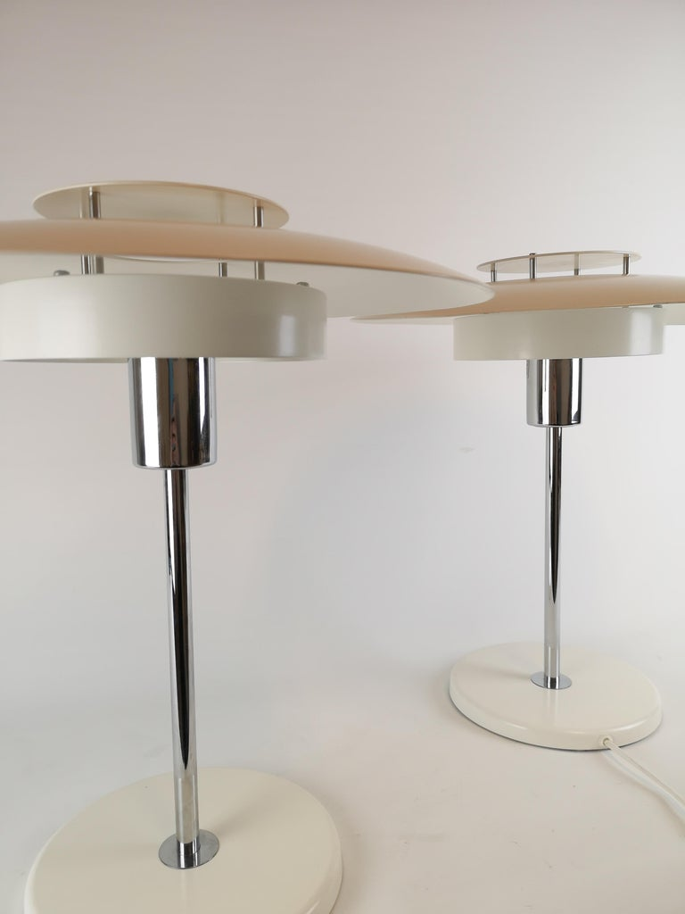 Swedish Pair of Table Lamps