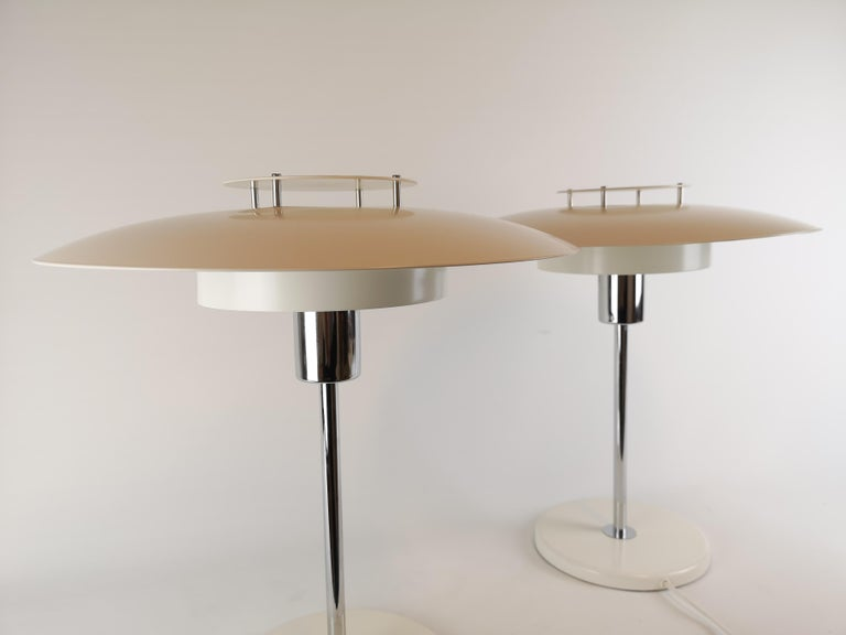 Late 20th Century Pair of Table Lamps