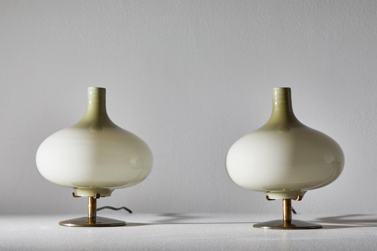 Mid-20th Century Pair of Table Lamps by Annig Sarian For Sale