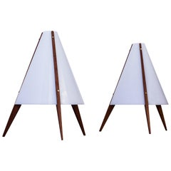 Pair of Table Lamps by Hans Agne Jakobsson and Arne Nilsson, Sweden, 1950s