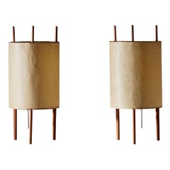Pair of Table Lamps by Isamu Noguchi for Knoll