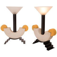 Pair of Table Lamps by Michele de Lucchi