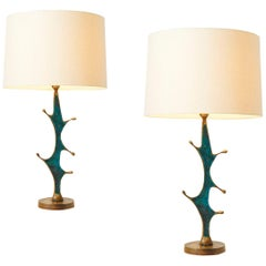 Pair of Table Lamps by Pepe Mendoza