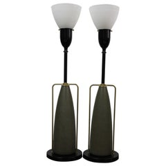 Pair of Table Lamps by Rembrandt Lamp Company
