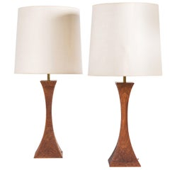 Pair of Table Lamps by Robert Whitley