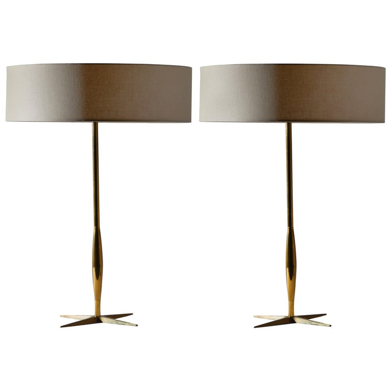 Pair of Table Lamps by Stiffel For Sale