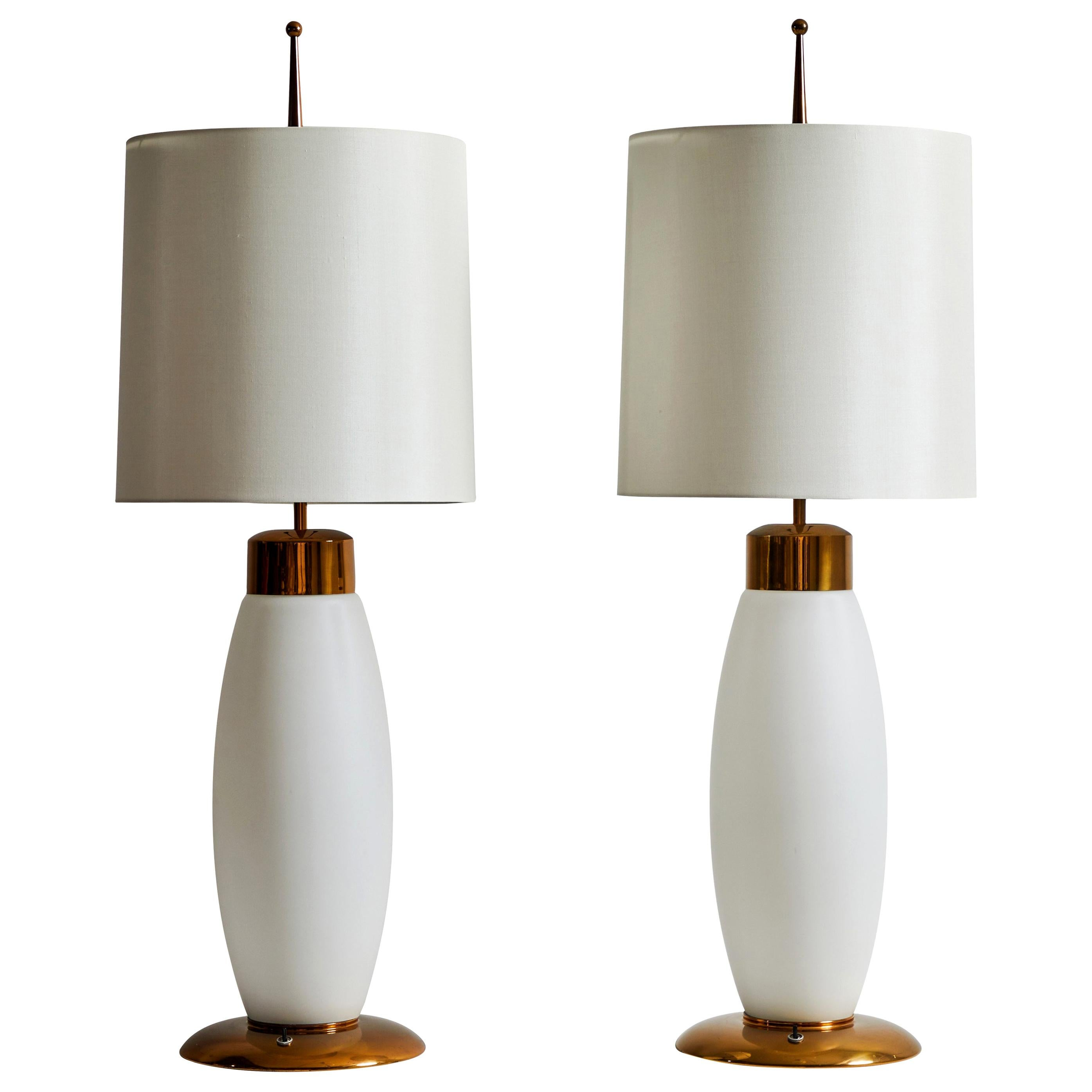 Pair of Table Lamps by Stilnovo