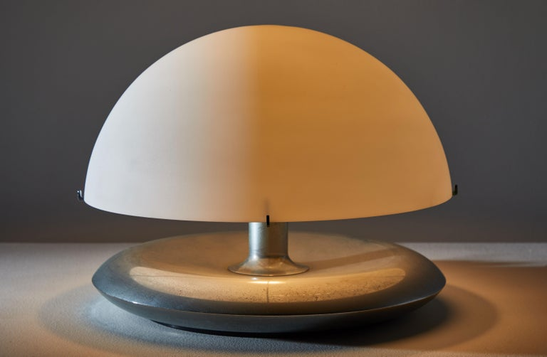Mid-Century Modern Pair of Table Lamps by Venini For Sale